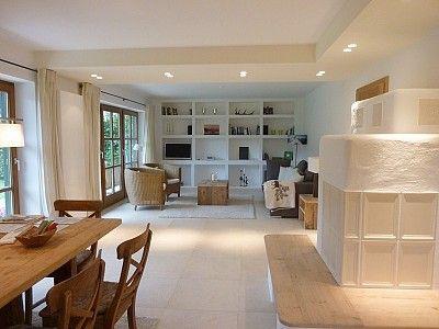 Wohnzimmer mit Kachelofen Küche Pinterest Nice furniture - umbau wohnzimmer ideen