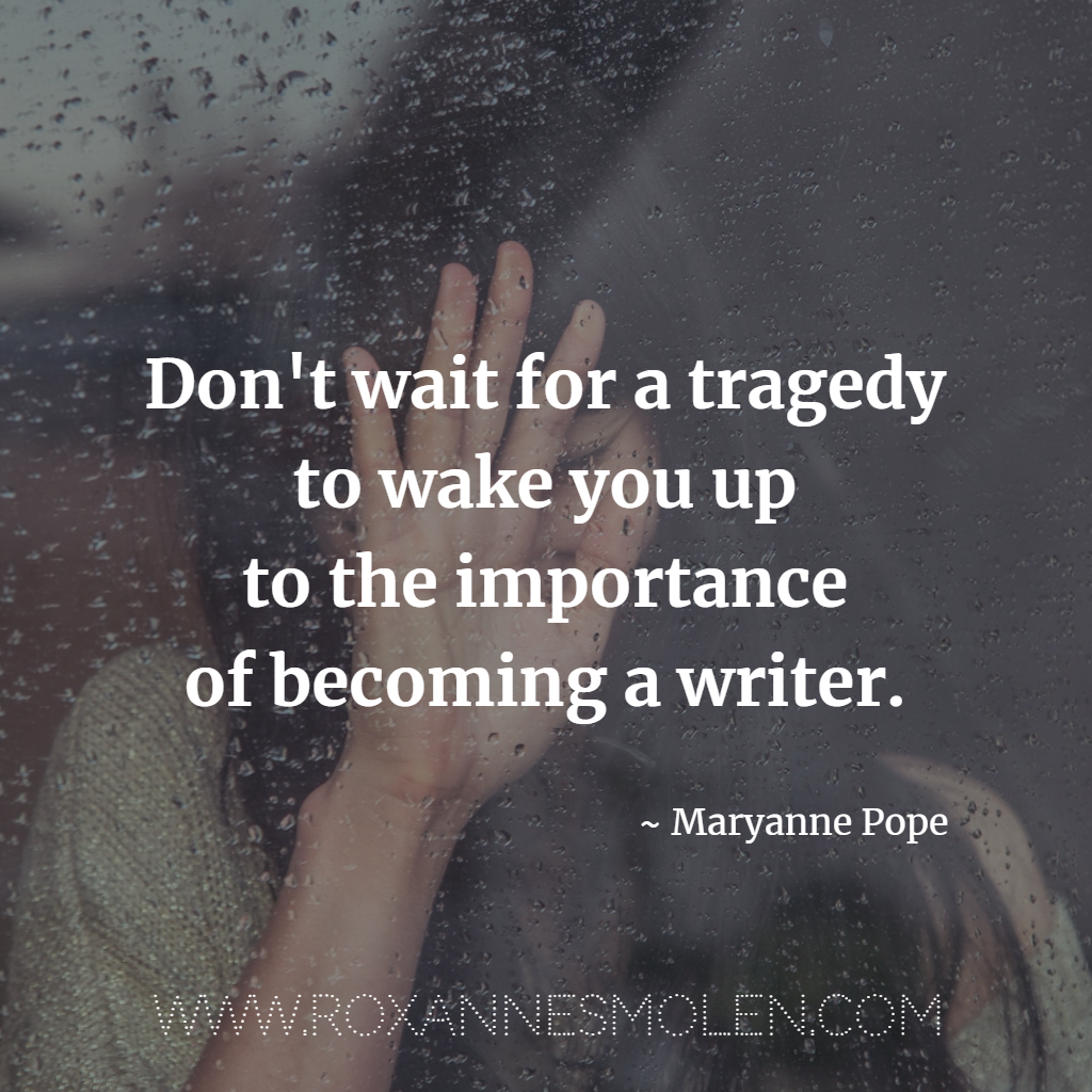Maryanne Pope Quote