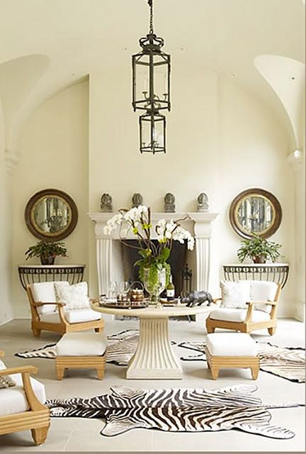 design musings chairs vs sofa  zebra living room