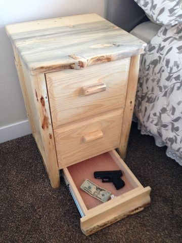 Hidden Stash Safe Nightstand Hidden Stash Safes Woodworking And