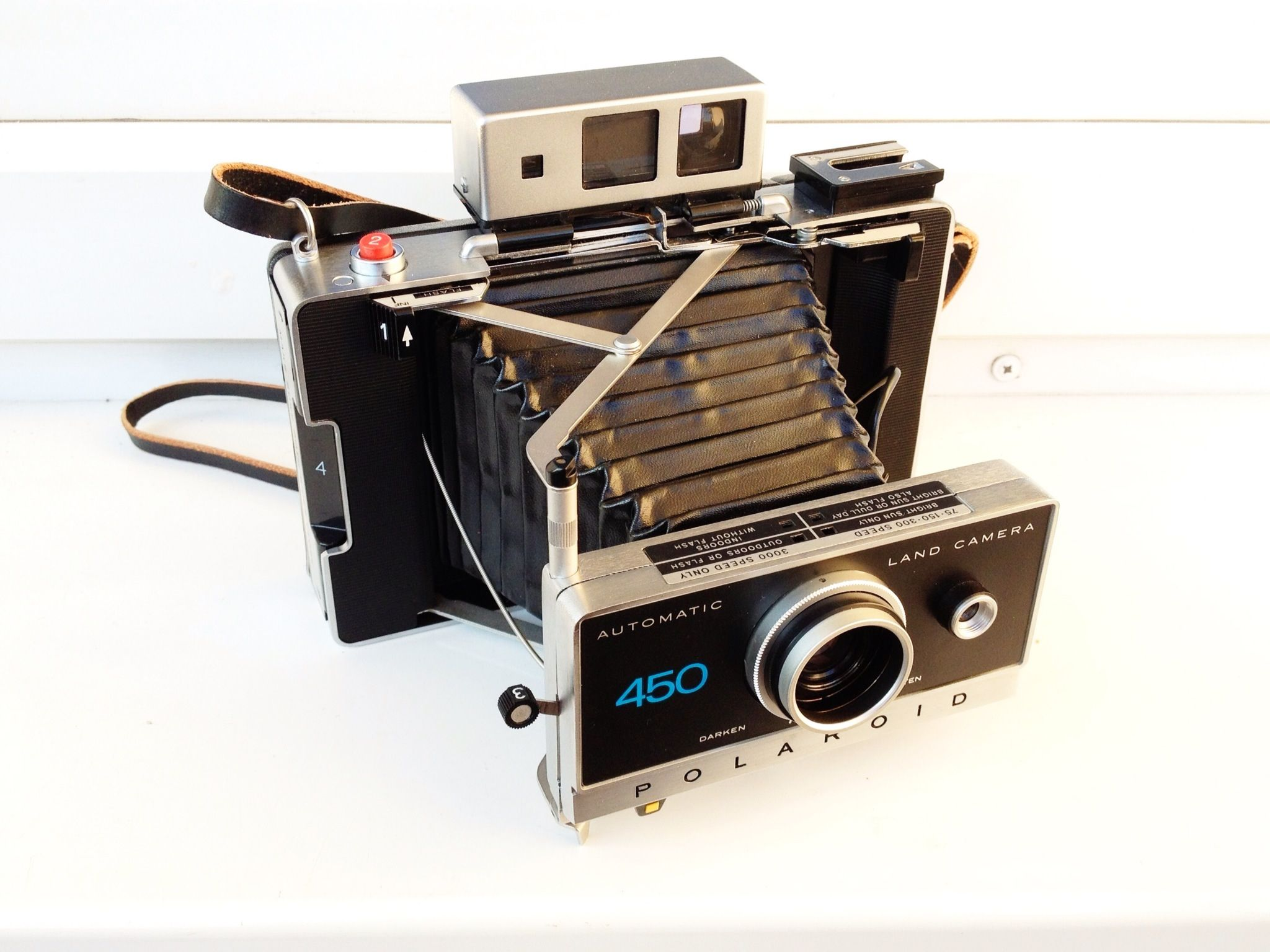 Polaroid Automatic 450 Land Camera (1970)