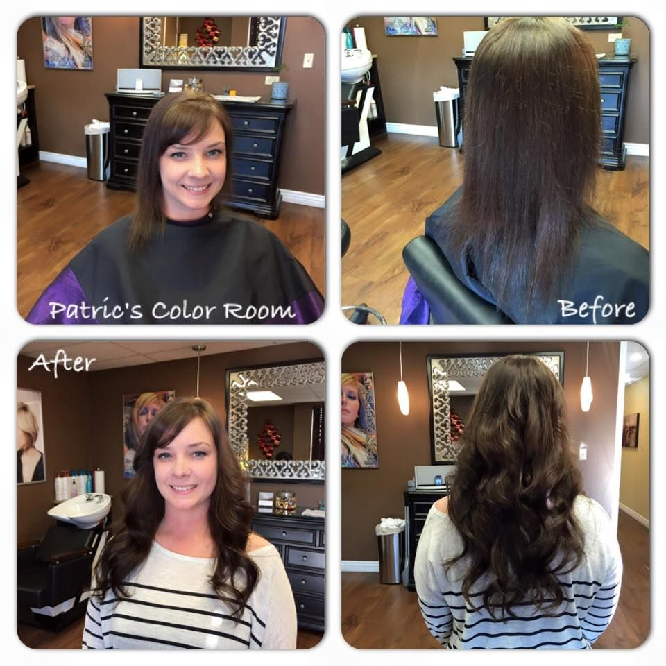 Before And After 18 Inch Donna Bella Hair Extensions Hairhairhair