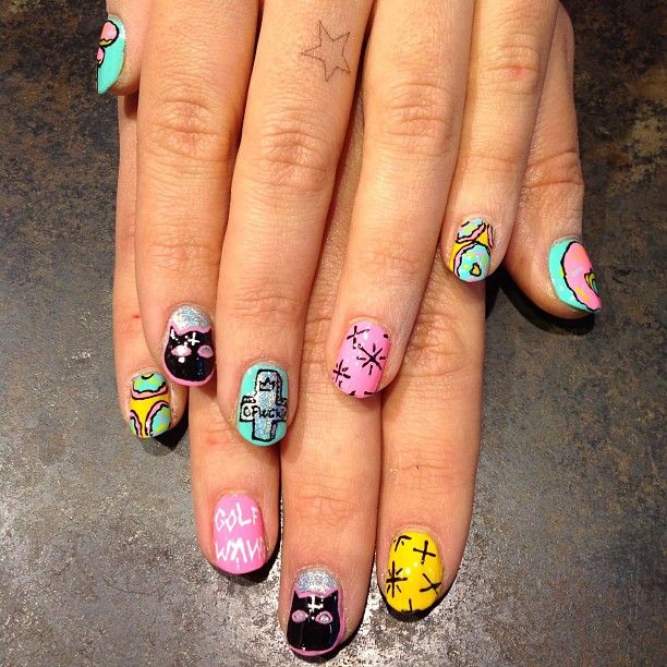 mix nailart