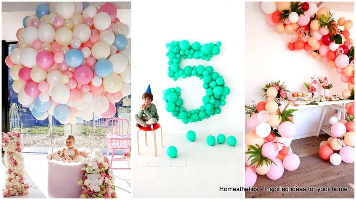 35 Einfach herrliche DIY-Ballondekorationen für Ihre Feier