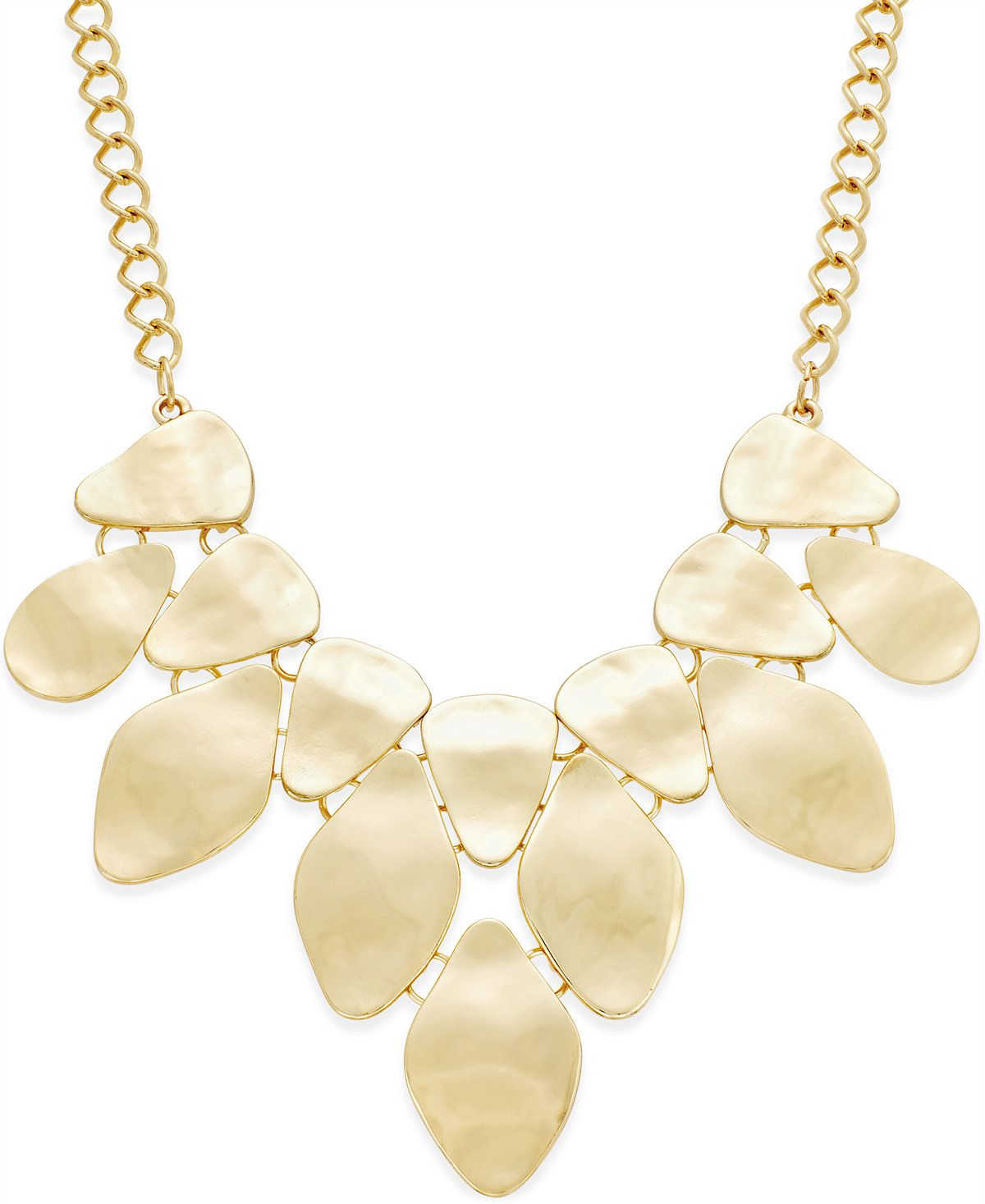 INC International Concepts Bib Necklace, Only at Macy's - Jewelry & Watches - Macy's