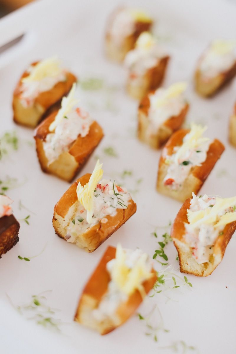 Mini Lobster Rolls With Celery Leaf Delish Where I