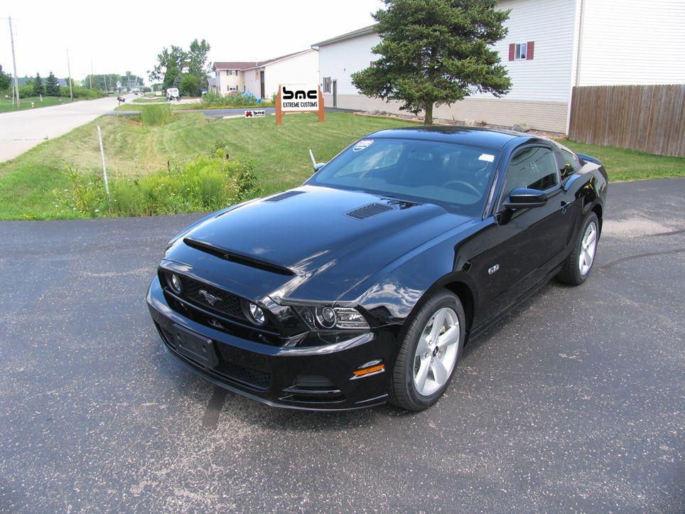 Bmc 2013 Ford Mustang Gt V6 Black Mamba Ram Air Hood Ford