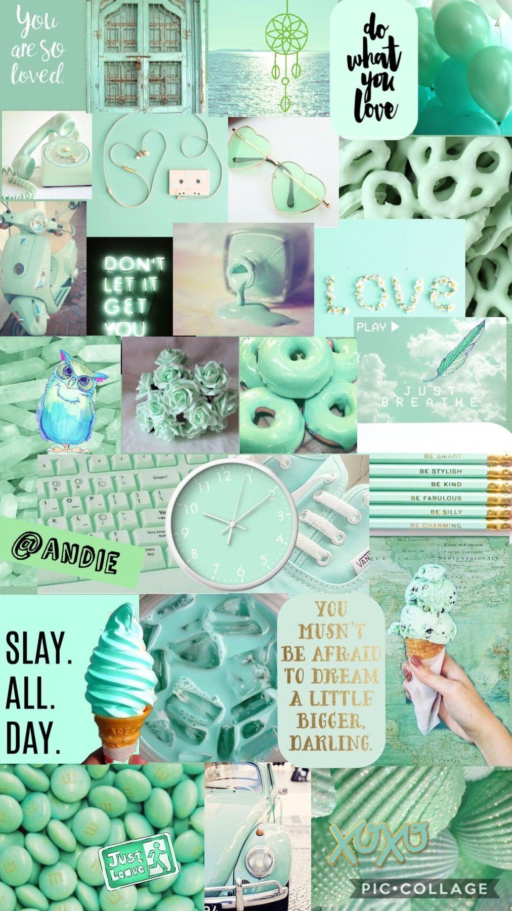 Pastel Green Wallpaper Tumblr Mint Tosca Aesthetic Novocom Top
