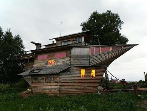 24 Realistic And Inexpensive Alternative Housing Ideas Crazy Houses House Boat Unusual Homes