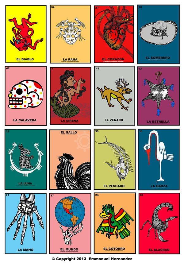 Loteria Mexicana With Images Loteria Cards Mexican Art