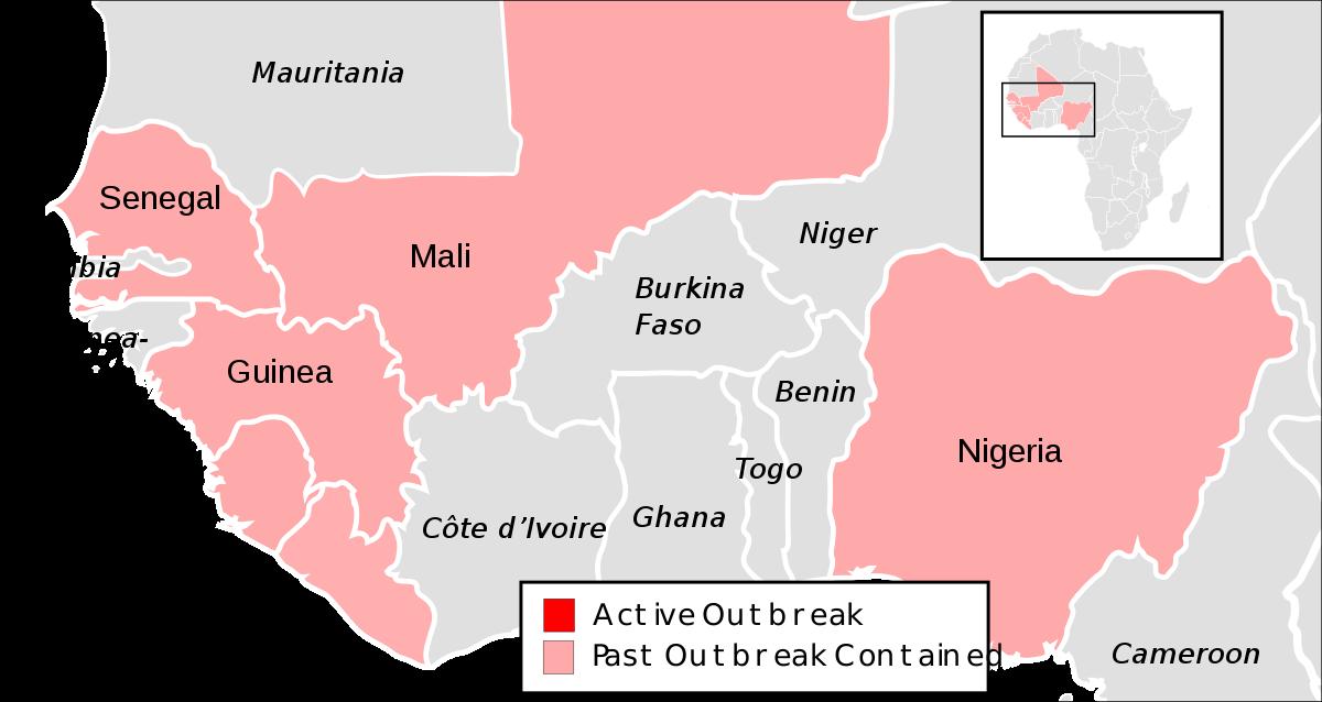 West African Ebola virus epidemic timeline - Wikipedia