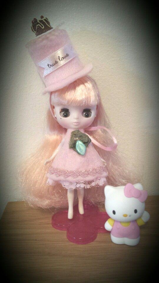 Sweet Ruby Petiteblythe dress by Dollno9.