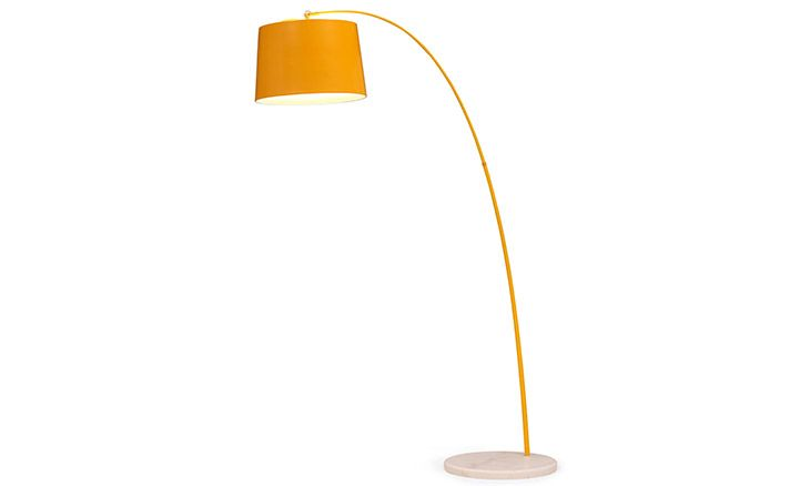 Ace Orange Floor Lamp Would Work Great With My Color Palette