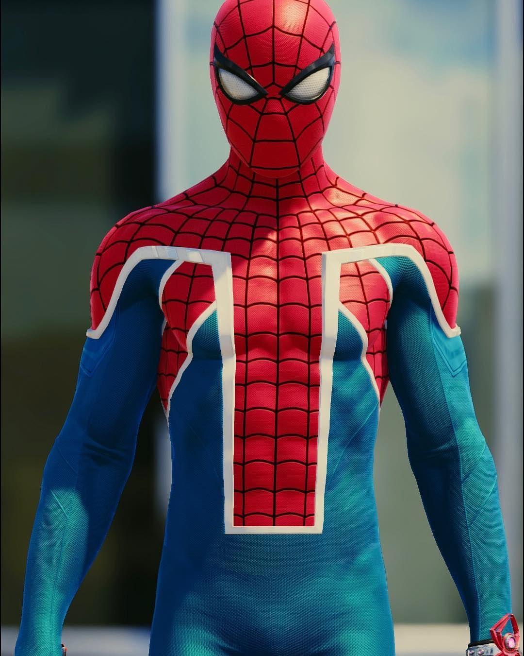 Spidey Suit Series; Spider-UK Suit 📸 #Gametography # ...