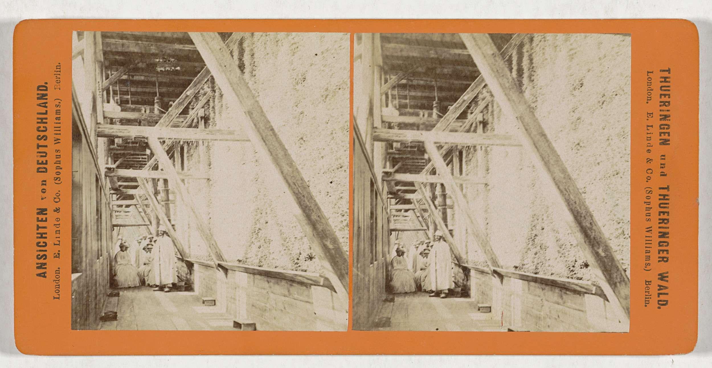 Sophus Williams & E. Linde & Co. | Salzungen, Gradirgang (Morgenseite), Sophus Williams & E. Linde & Co., 1860 - 1890 |