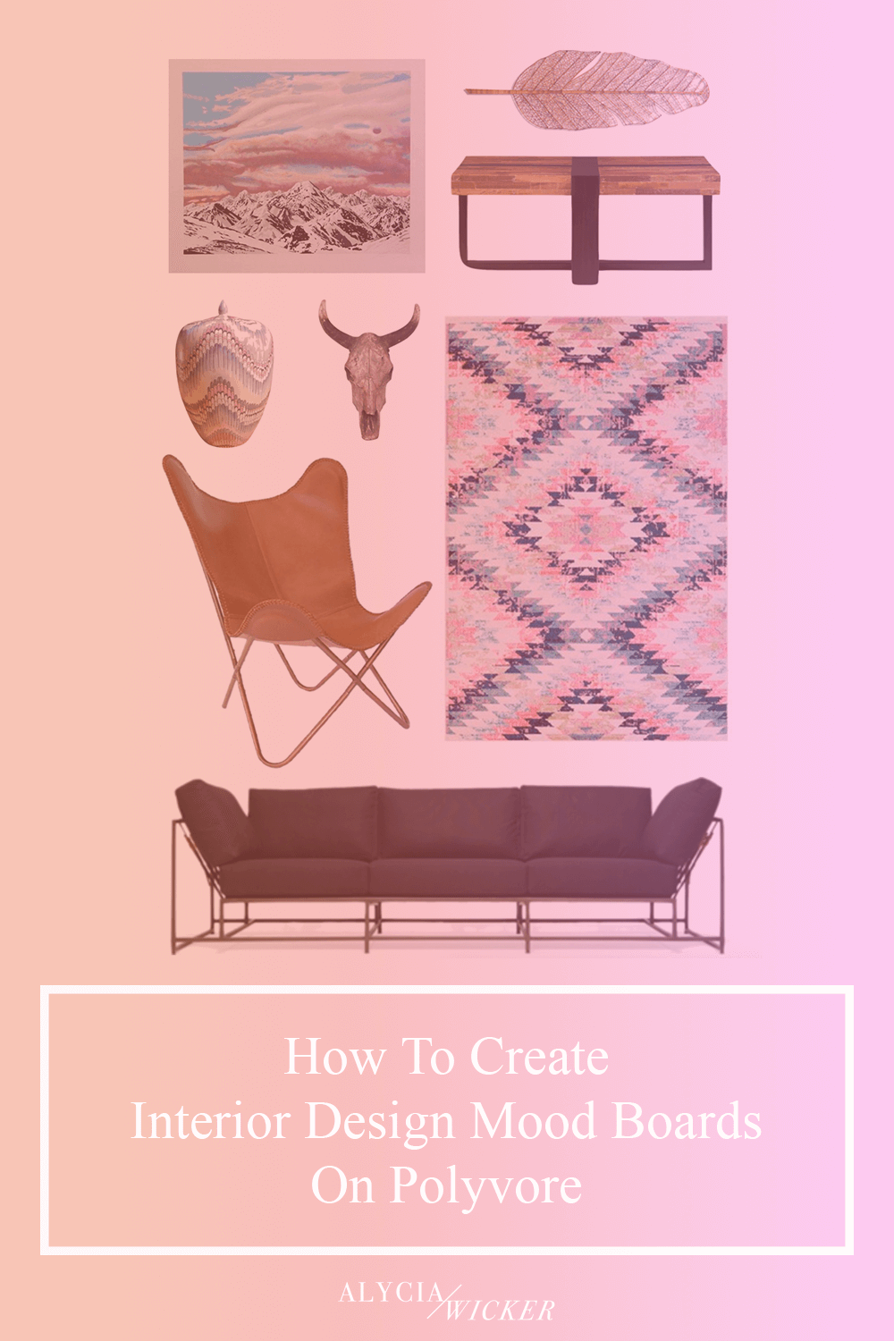 How To Create Interior Design Mood Boards On Polyvore Interior
