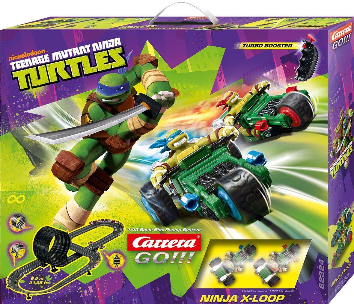 Carrera Slot 1 43 Go Teenage Mutant Ninja Turtles Ninja X Loop 62324 Manufacturer Carrera Barcode 4 Ninja Turtles Turtle Teenage Mutant Ninja Turtles