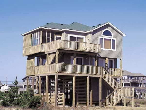 Salvocean, 5 bedroom Ocean Front home in Salvo, OBX, NC