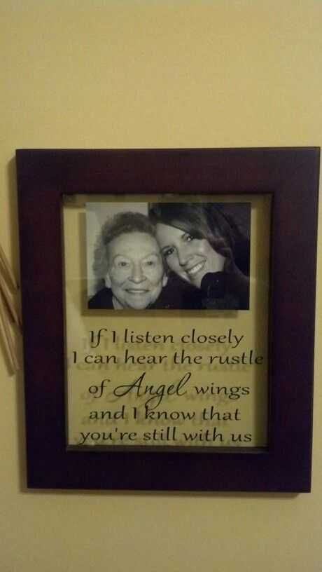 Memory Photo Frame With Vinyl Love This Saying And Will Need To Make One Of These For Grams Picture Vinyl Crafts Vinyl Projects Silhouette Crafts