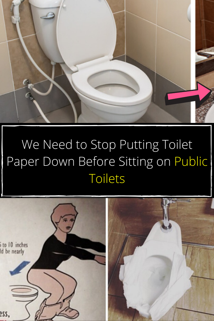 We Need To Stop Putting Toilet Paper Down Before Sitting On Public Toilets Pet Sitting Business New Year 2020 Good News