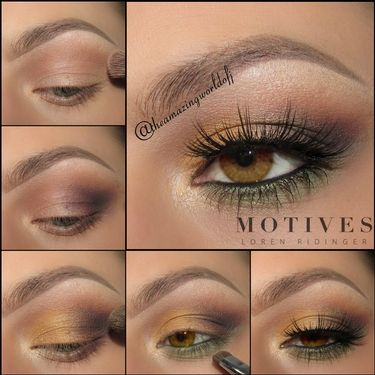 amber eyes  motives cosmetics eyeshadow for amber
