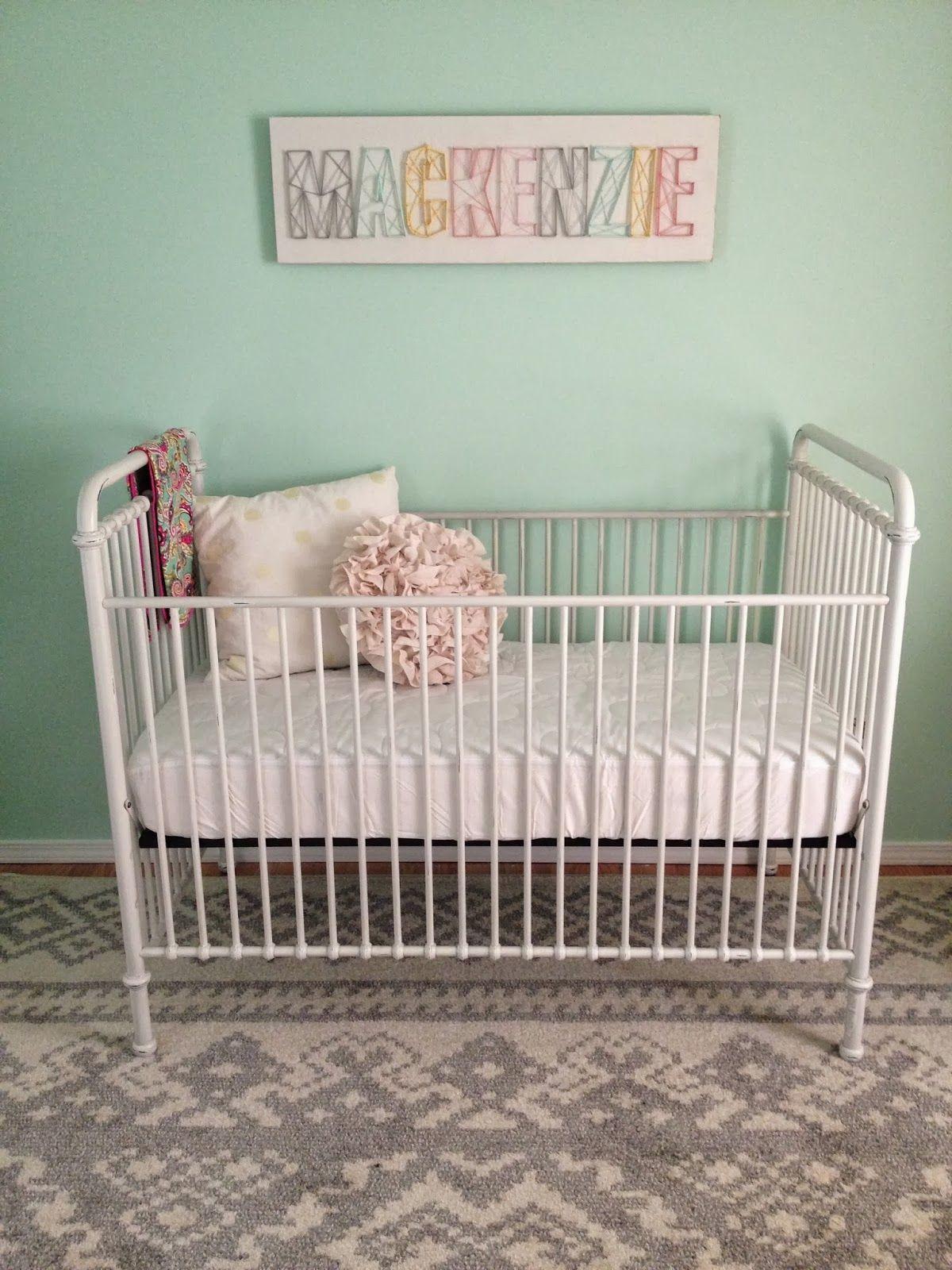 DIY Nursery String Art Tutorial #nursery