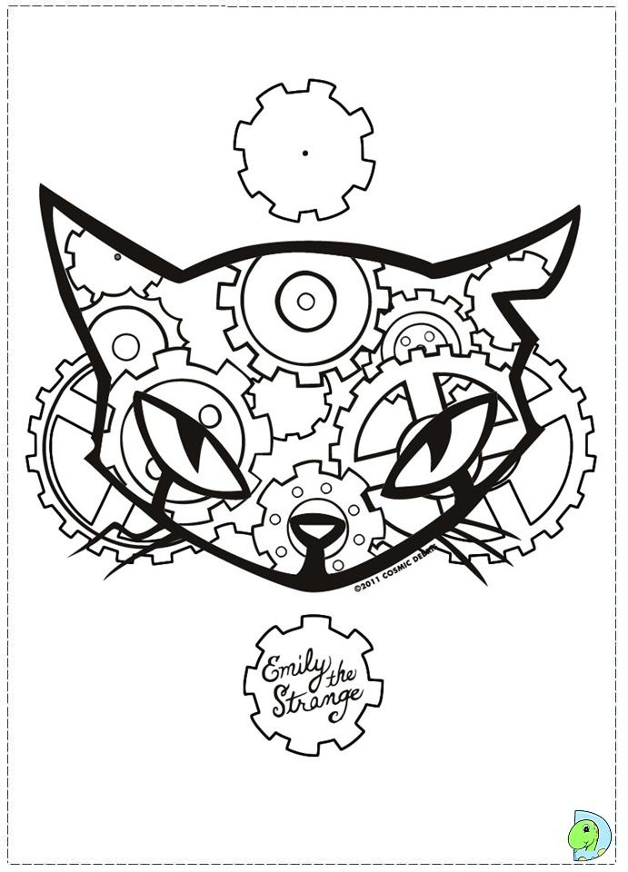 strange coloring pages - Weird Coloring Books