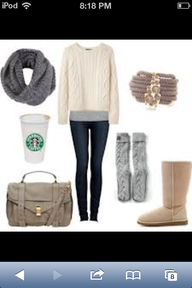comfy winter outfit | cute winter outfits, comfortable outfits, fashion