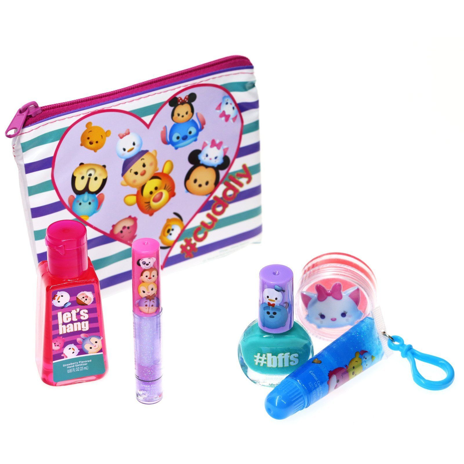 Tsum Tsum Ready Set Go Cosmetic Set Cosmetic Sets Beauty Kit