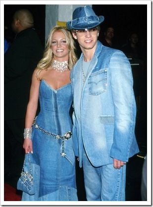 376fe03f7a1 Justin Timberlake and Britney Spears in double denim