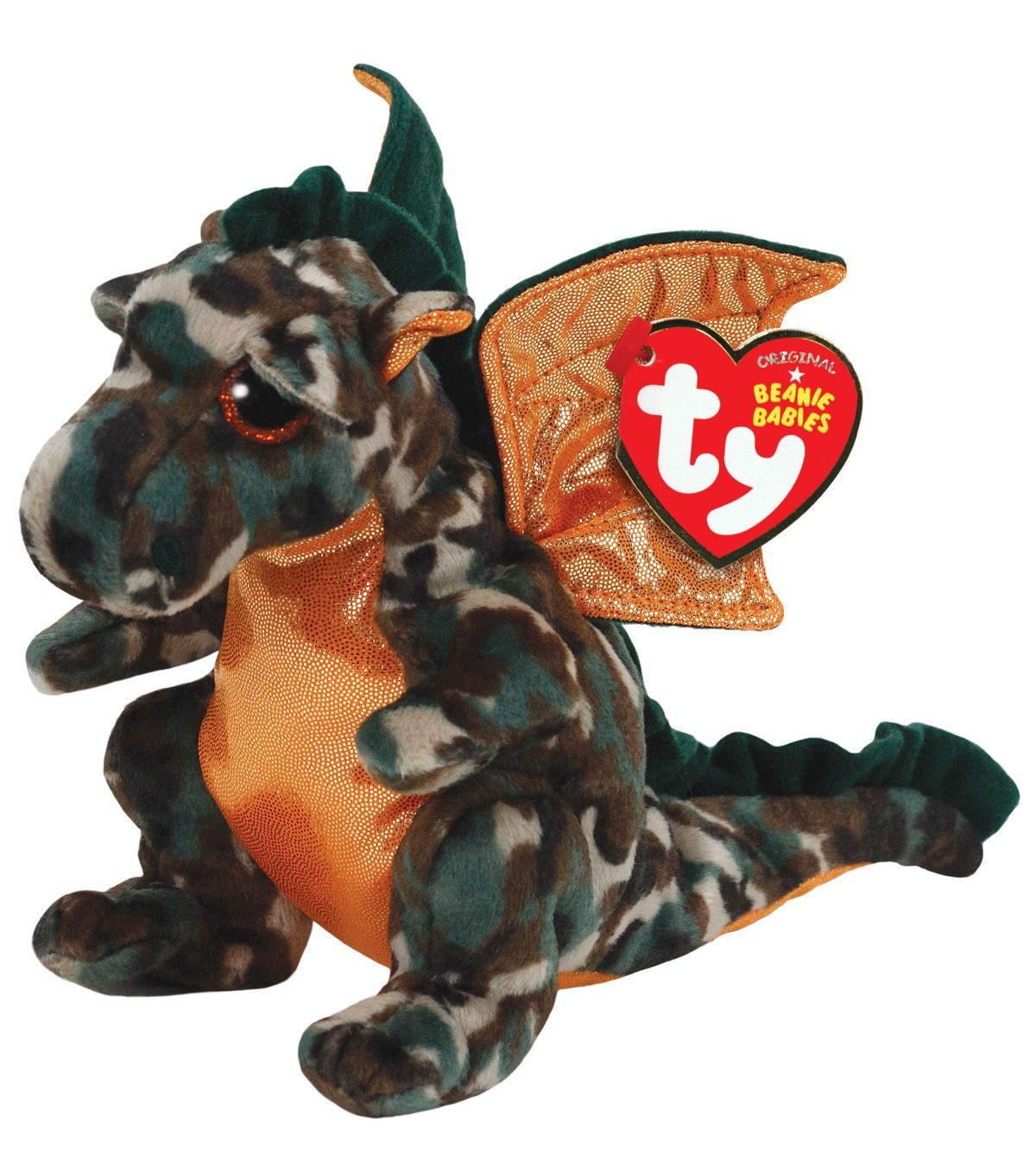 3b938d31704 Ty Beanie Babies Razor The Camo Dragon Plush