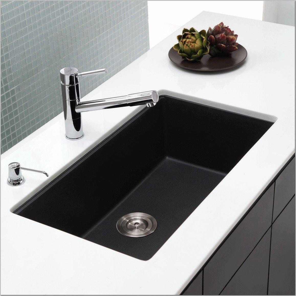 Black Undermount Kitchen Sink Simple Master Bedroom Ideas Farmhouse Bathroom Vanitie Black Undermount Kitchen Sink Undermount Kitchen Sinks Galley Kitchen Sink