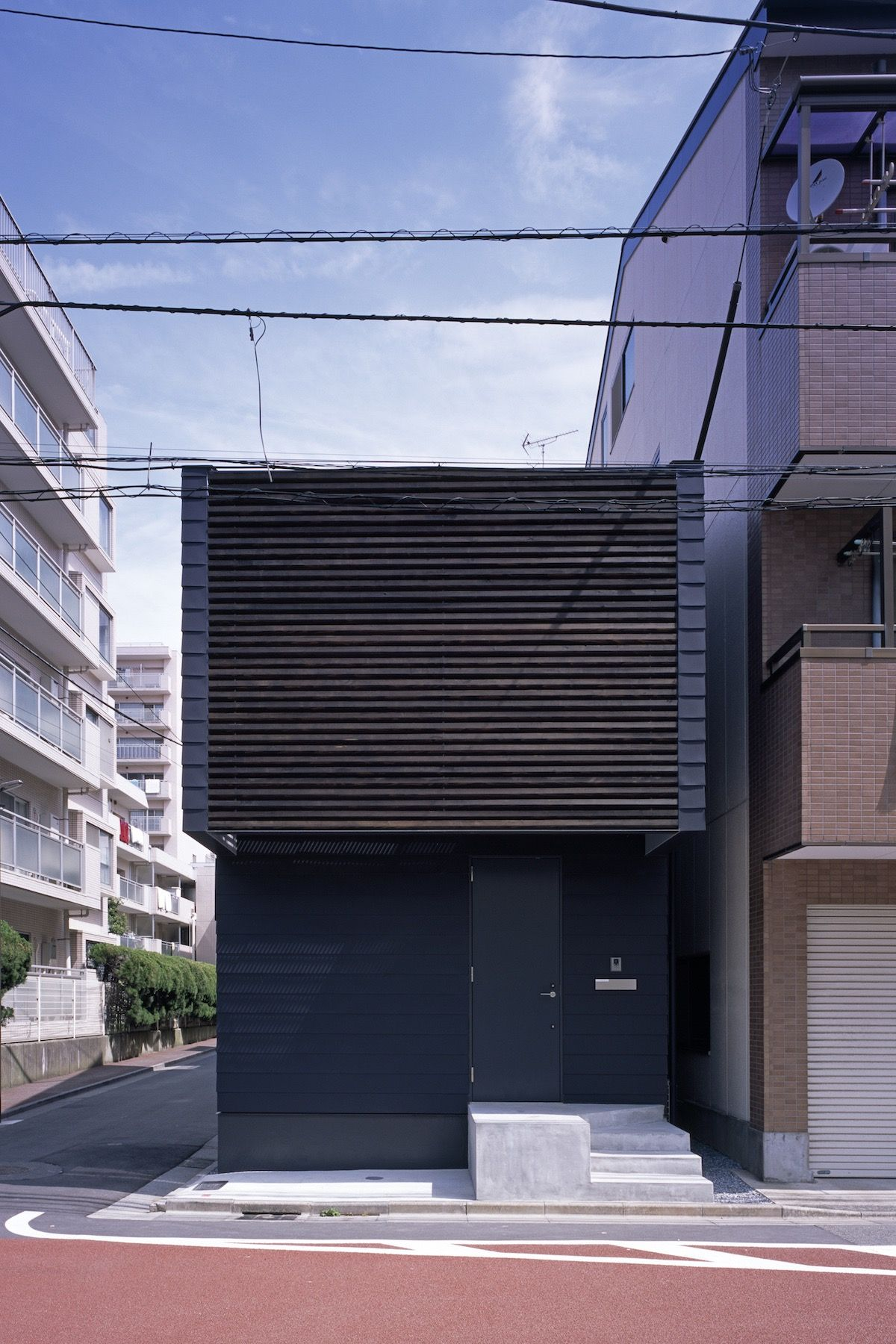 SLIDE Is A Minimalist Residence Located In Japan, Designed By APOLLO  Architects U0026 Associates,