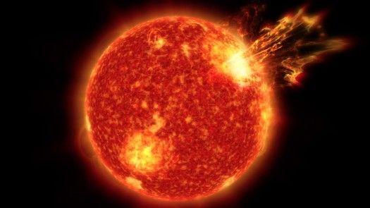 Tähdet ja avaruus: Auringon purkaukset saattoivat luoda maapallolle elämän edellytykset