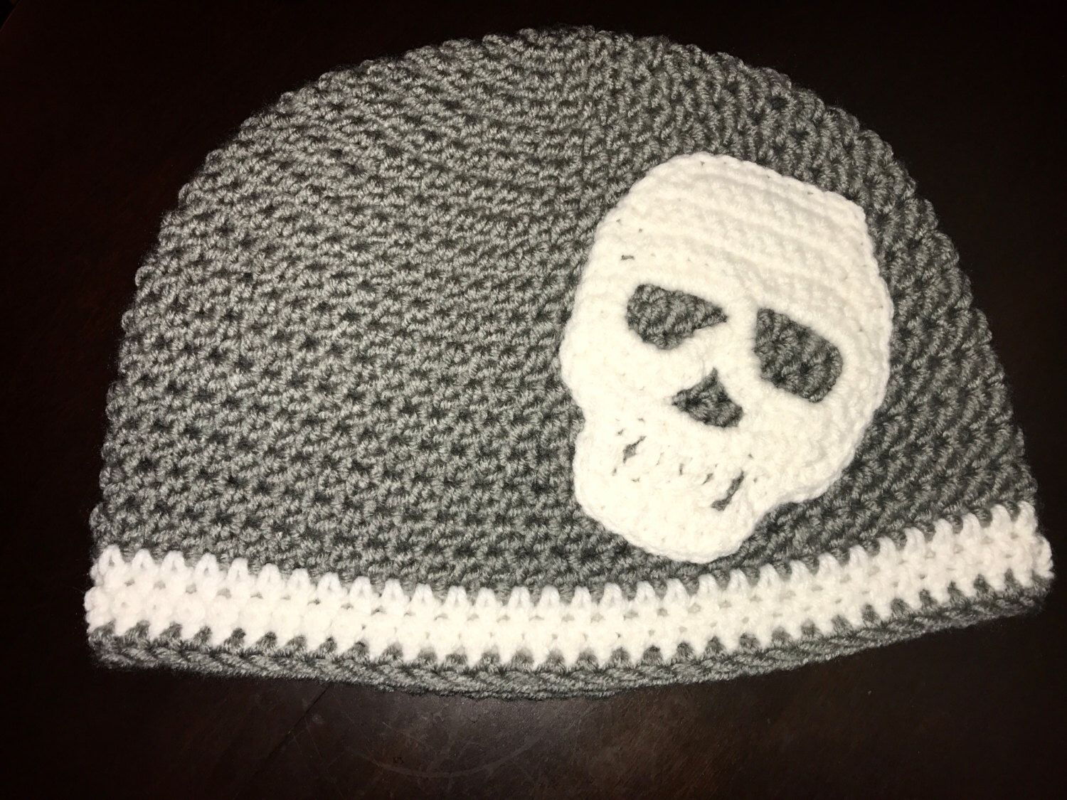 A personal favorite from my Etsy shop https://www.etsy.com/listing/487095702/sugar-and-skulls-basic-beanie