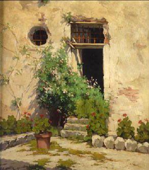 Alejandro Alonso Rochi, pintor nicaragüense