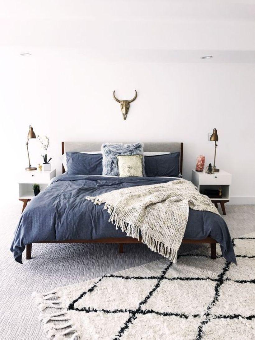 Awesome 35 Vintage Mid Century Modern Bedroom