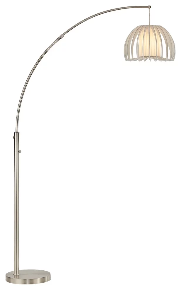 Artiva Usa Zucca 83 Quot Arched Led Floor Lamp With Dimmer