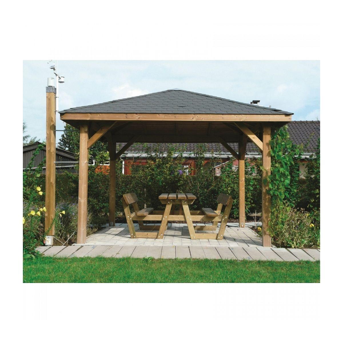 Solid Abri De Jardin Maisonnette Chalet De Jardin Kiosk 347x347
