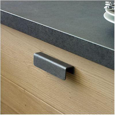 Lin a lot de 2 poign es pour meuble de cuisine aspect - Poignee de porte pour meuble de cuisine ...