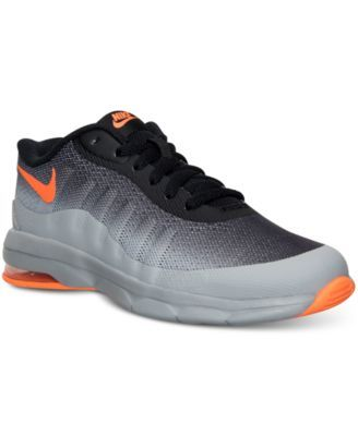 Nike Boys  Air Max Invigor Running Sneakers from Finish Line - Finish Line  Athletic Shoes - Kids   Baby - Macy s adabc0d62