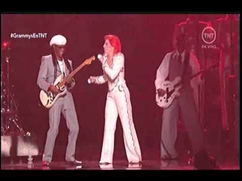 Lady Gaga Tribute to David Bowie performance at Grammys 2016 HD - YouTube