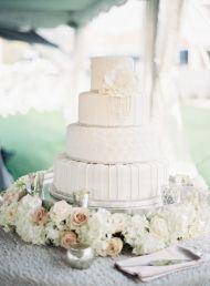 Elegant Great Gatsby Wedding in Virginia Beach - Style Me Pretty