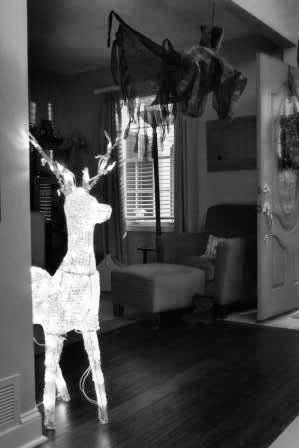 Harry\u0027s patronus (a stag) Harry Potter theme party Pinterest - halloween decoration themes