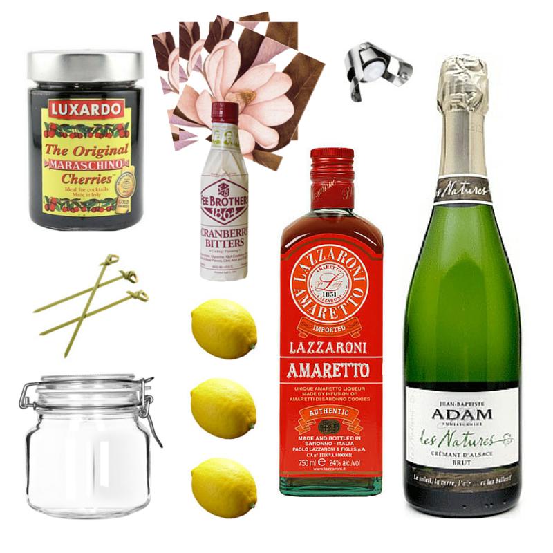 Cherry Almond Fizz | Crafted Taste Cocktails
