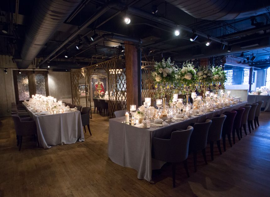 George Restaurant Toronto Wedding Reception French Romance Decor