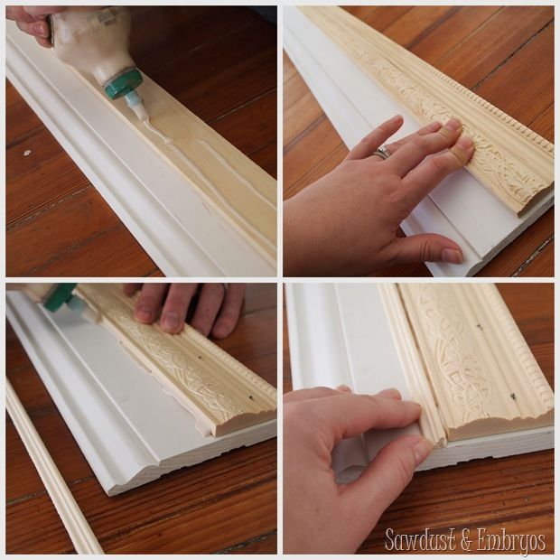 Build a Custom Frame out of Trim Pieces   Woodworking, Wood projects ...