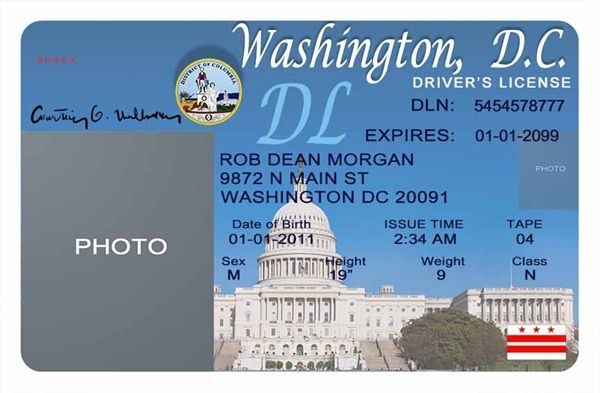 california drivers license template photoshop