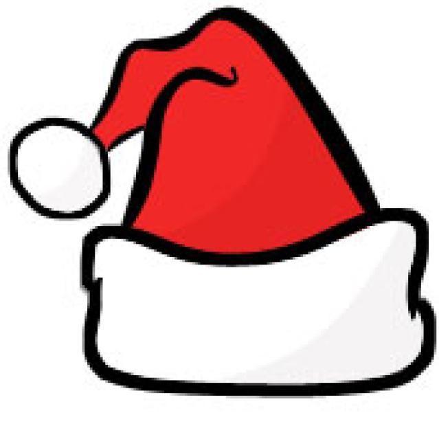 39++ Clipart santa hat free information