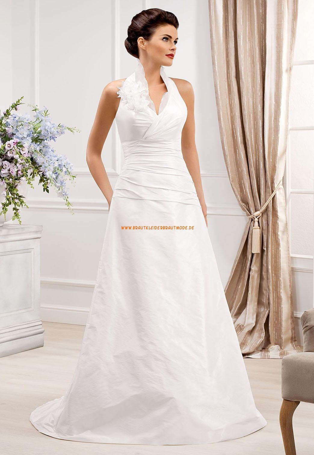 Schicke Schlichte Brautkleider aus Satin  Celebrity wedding